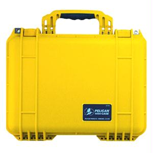 Pelican 1450 Case - Yellow with Foam