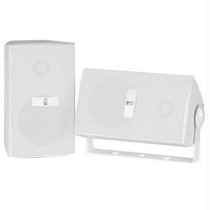 Poly-Planar MA3030W 4 Box Speakers - White