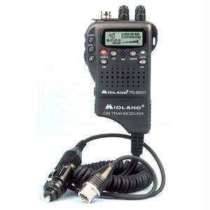 Midland 75-822 40 Channel Handheld CB w/ Mobile Converter Kit