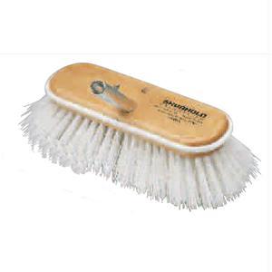 Shurhold 10 Polypropylene Stiff Brislte Deck Brush