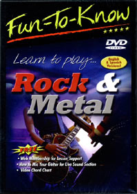 Education 2000 822479037925 Fun To Know: Learn to Play Rock & Metal
