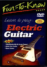 Education 2000 822479033828 Fun-To-Know - Electric Guitar Lessons for Beginners EDTW046