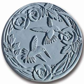 Garden Molds X-HBIRD8014 Hummingbirds Stepping Stone Mold- Pack of 2