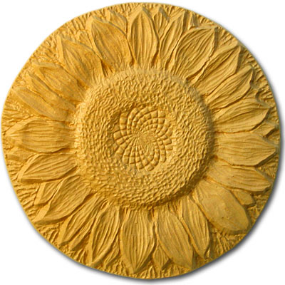 Garden Molds X-SFLWR8034 Sunflower Stepping Stone Mold- Pack of 2