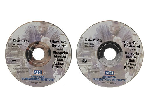 AGI X0510D DVD-AGI: How to ReBarrel  Tune and Blueprint Military Bolt Action Rifles