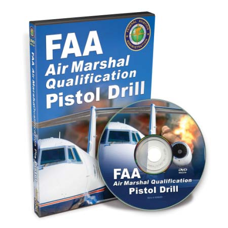 LMP X0565D DVD- FAA Air Martial Qualification Pistol Drill