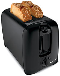 Proctor Silex 22607 BLK 2-Slice Cool Wall Toaster - Black at Sears.com
