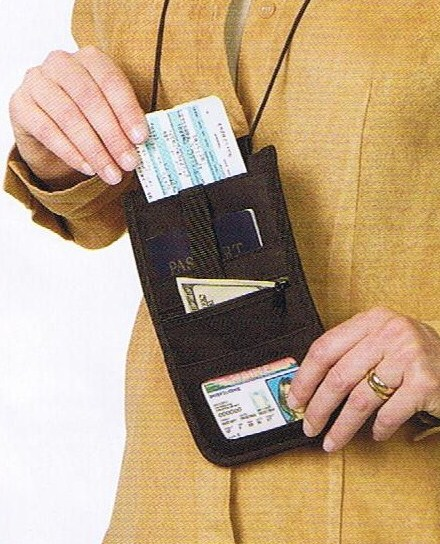 Talus SmoothTrip ST-S5005BLK Boarding Pass Holder