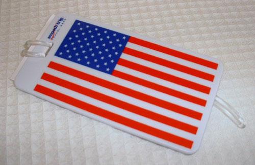 Talus SmoothTrip ST-LT6001 Luggage Tag - American Flag