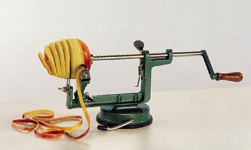 Paderno World Cuisine 49836-00 Apple Peeler with Cup WDC4320