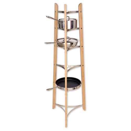 JK Adams PRS54 Cookware Stand 54 Inch H