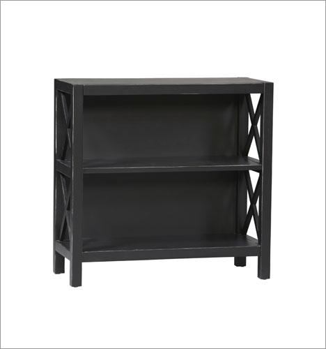 Linon 86104C124-01-KD-U Anna Collection 3 Shelf Bookcase