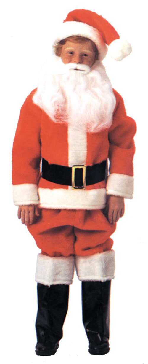 Costumes For All Occasions AE09 Santa Suit Child Size 8