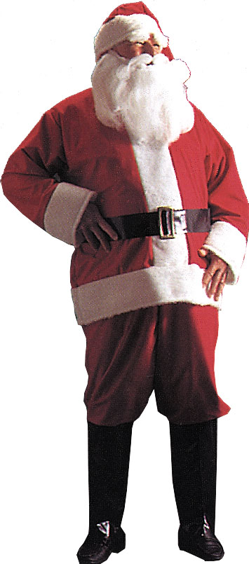 Santa Suits - Costumes For All Occasions AE25 Santa Suit Regular 2094