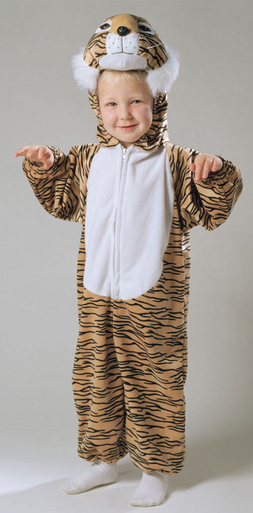 Costumes For All Occasions AF014TS Tiger Striped Plush 1 To 2