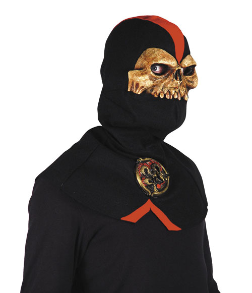 Ninja Costumes - Costumes For All Occasions MR031049 Ninja Reaper Half Mask W Hood