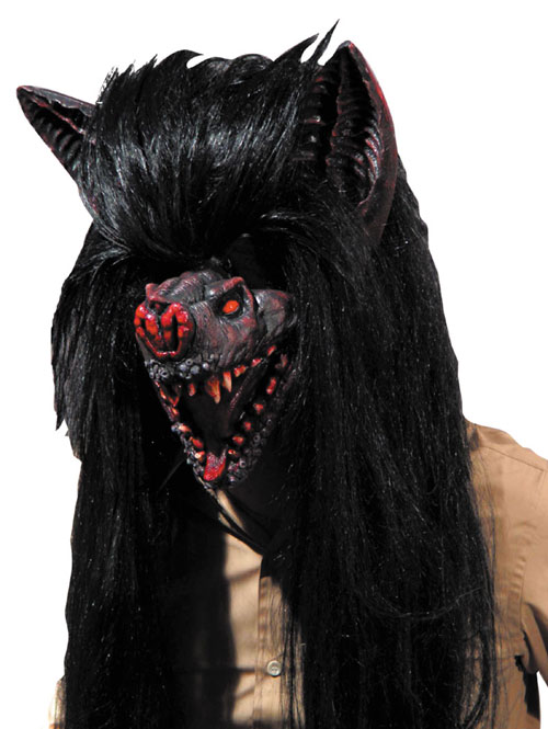 Bat Costume - Costumes For All Occasions MR031073 Bat Hairy Beast Mask