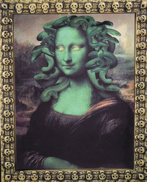 Medusa Costume - Costumes For All Occasions MR122002 Ghoul Print Medusa Lisa