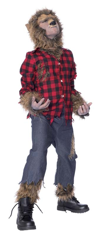 Costumes For All Occasions MR144020 Wolfman Child Costume Large MRRS10827