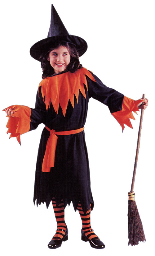 Witch Costumes - Costumes For All Occasions AF13LG Wendy The Witch Child Large
