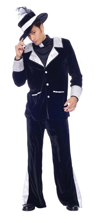 Costumes For All Occasions MR148068 Father Pimp Costume Medium MRRS10871