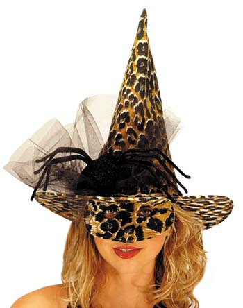 Animal Costumes - Costumes For All Occasions MR167039 Witch Hat Animal With Eyemask
