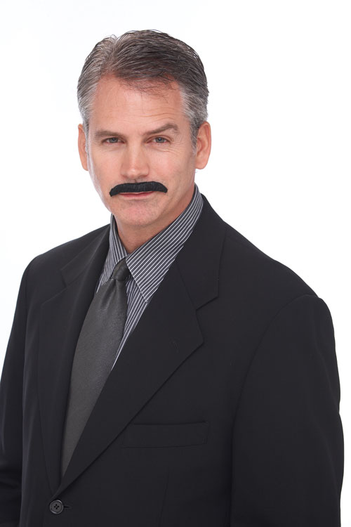 Movie Costumes - Costumes For All Occasions PM531229 Mustache The Movie Star