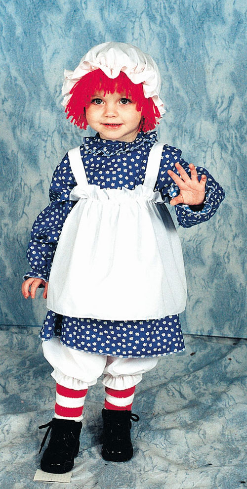 Raggedy Ann Costume - Costumes For All Occasions 12117 Raggedy Ann Toddler 1 To 2