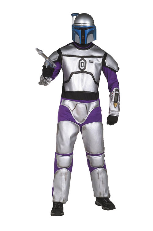 Jango Fett Costume - Costumes For All Occasions AF195LG Jango Fett Child Large Costume