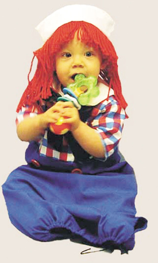 Costumes For All Occasions 12119 Raggedy andy Bunting