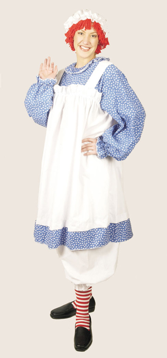 Raggedy Ann Costume - Costumes For All Occasions 12120 Raggedy Ann Plus Size