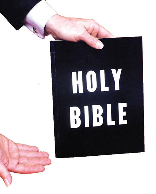Costumes For All Occasions RA134 Holy Bible Color Book 3 Way