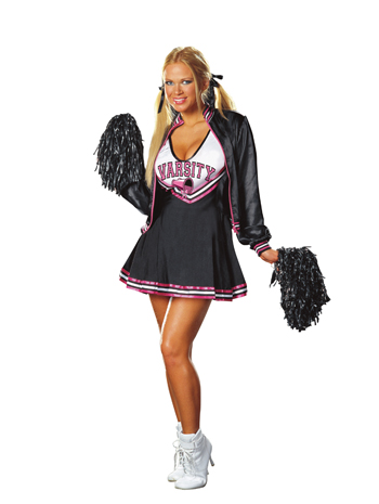Cheerleader Costumes - Costumes For All Occasions RL4514LG Varsity Cheerleader Large