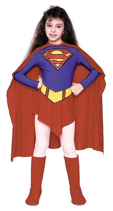 Costumes For All Occasions AF92LG Supergirl Child Large