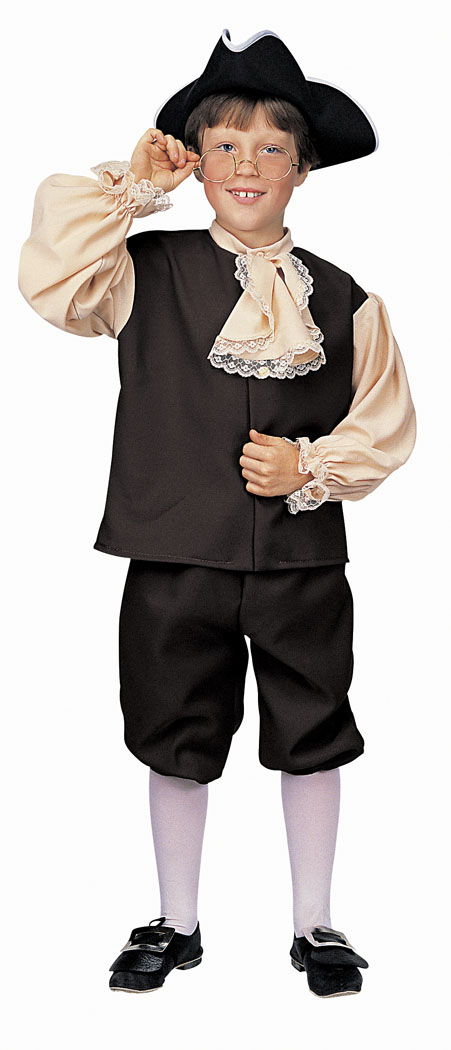 Costumes For All Occasions RU10051LG Colonial Boy Large