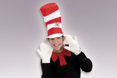 Cat Costumes - Costumes For All Occasions RU13014 Cat In Hat Set Adult