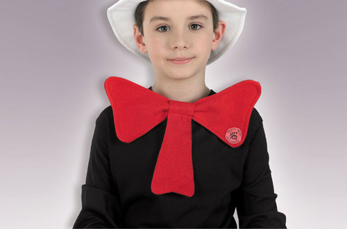 Cat In The Hat Costume - Costumes For All Occasions RU1444 Cat In Hat Bow Tie Child