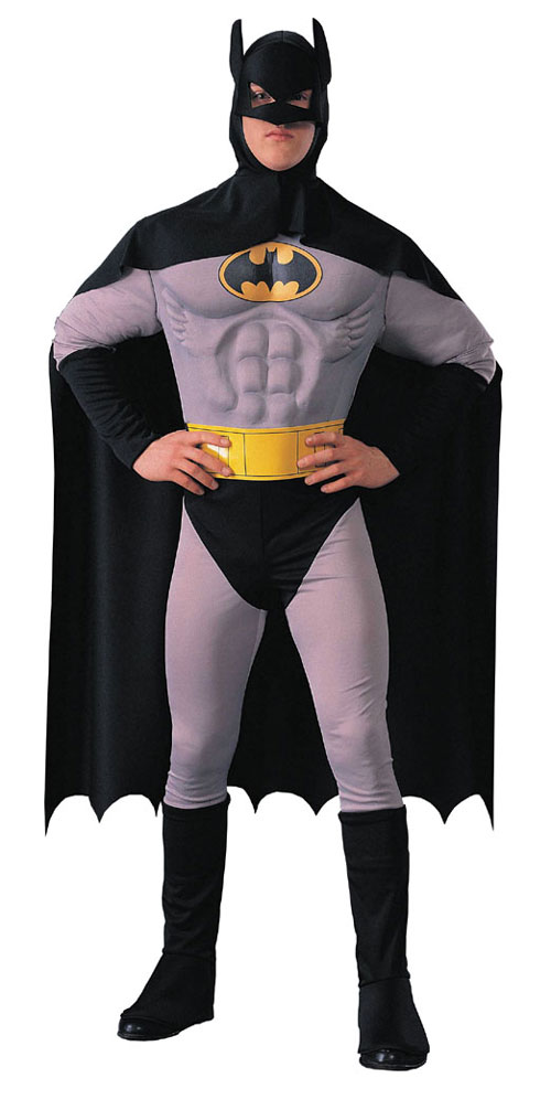 Batman Costumes - Costumes For All Occasions RU15716 Batman Adult Muscle Chest Larg
