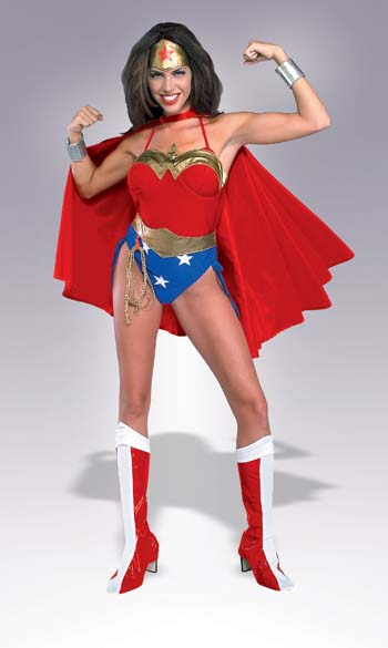 Wonder Woman Costume - Costumes For All Occasions RU16405LG Wonder Woman Large Adult