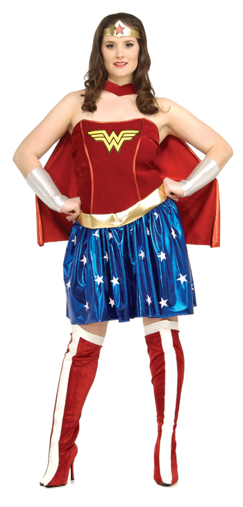 Wonder Woman Costumes - Costumes For All Occasions RU17440 Wonder Woman Plus Size