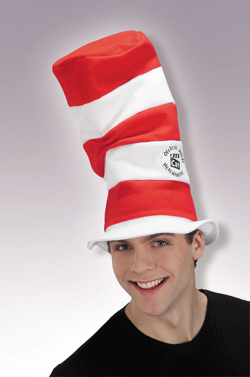 Cat In The Hat Costume - Costumes For All Occasions RU47779 Cat In Hat Hat Standard
