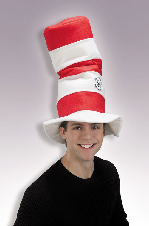 Cat In The Hat Costume - Costumes For All Occasions RU49379 Cat In Hat Hat Deluxe