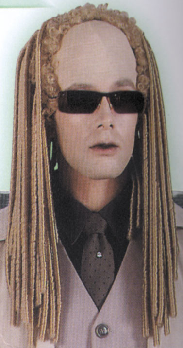 Matrix Costumes - Costumes For All Occasions RU50623 Matrix Twins Wig