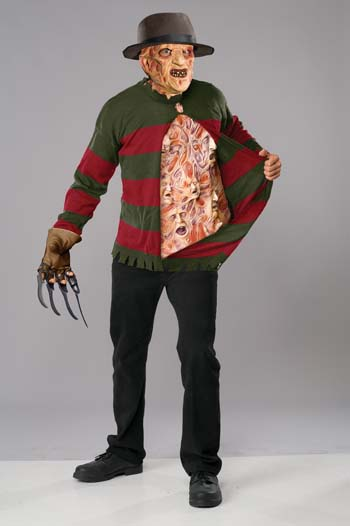 Sweater Chest - Costumes For All Occasions RU56066 Freddy Chest Of Souls Sweater