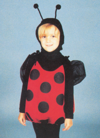 Costumes For All Occasions 13951 Lil Lady Bug Size 2 To 6