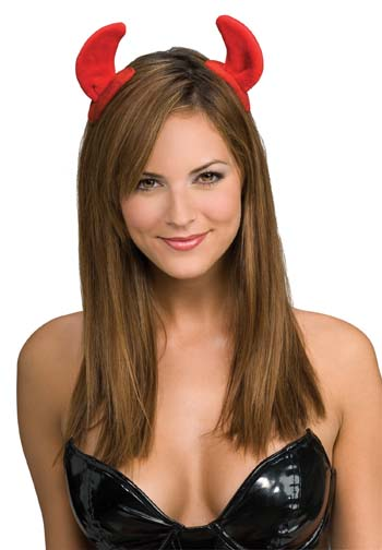 Devil Costume - Costumes For All Occasions RU7628 Devil Horns On Clips