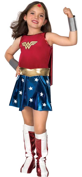 Wonder Woman Costume - Costumes For All Occasions RU82312LG Wonder Woman Child Large