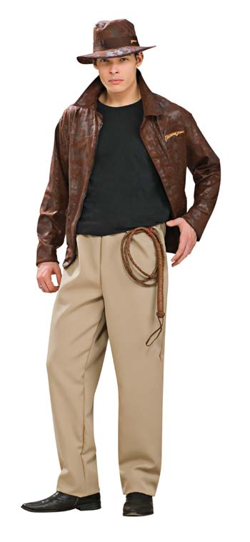 Indiana Jones Costume - Costumes For All Occasions RU888674 Indiana Jones Deluxe Adult Standard