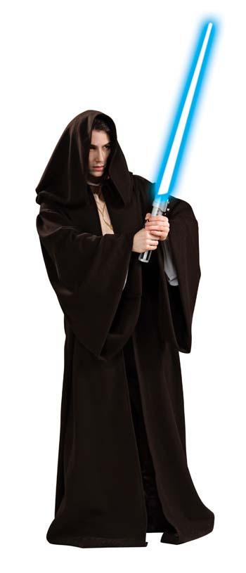 Jedi Robe - Costumes For All Occasions RU888741 Jedi Robe Super Deluxe Adult Standard