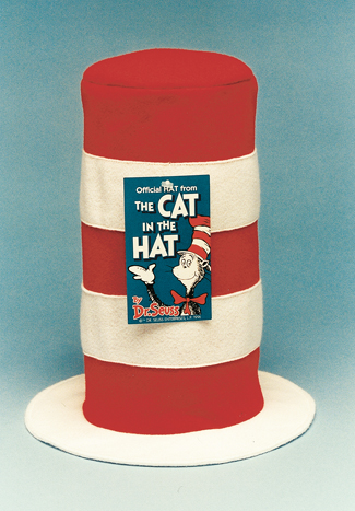 Cat In The Hat Costume - Costumes For All Occasions 14015 Hat Cat In Hat